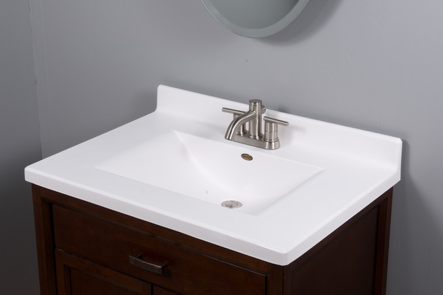 Imperial Satin Stone Vanity Top Modern Tops And