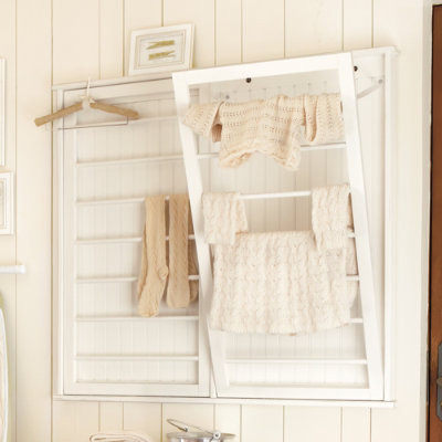 Beadboard Drying Rack contemporary dryer racks