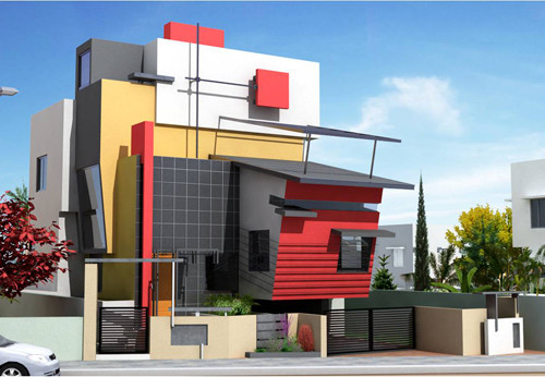 Modern residential house plans contemporary home designs for Contemporary residential architecture