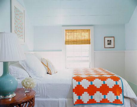 Leslie Klotz bedroom eclectic