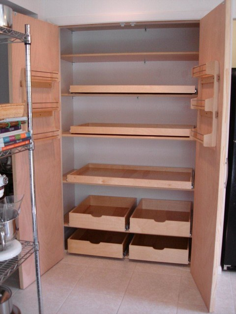 Pantry Pull Out Shelves - other metro - by ShelfGenie of West Palm Beach