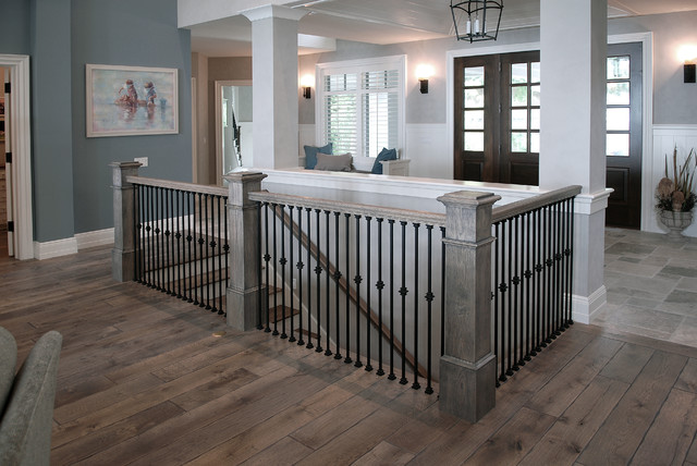 Gray Hardwood Flooring Home Design Ideas and Pictures