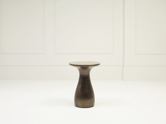 Swell Accent Table - Baker Furniture modern-side-tables-and-accent-tables