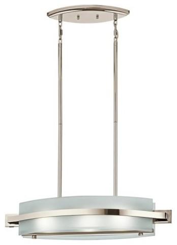Kichler Lighting Kichler Freeport 42090PN Island Light - 7.5 in. - Polished Nick contemporary-ceiling-lighting