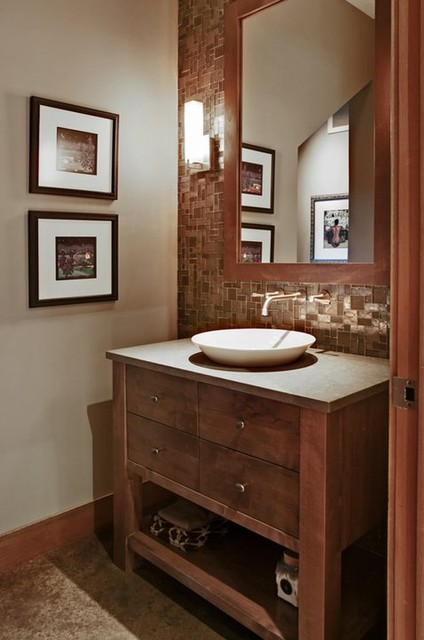 Powder Room contemporary powder room