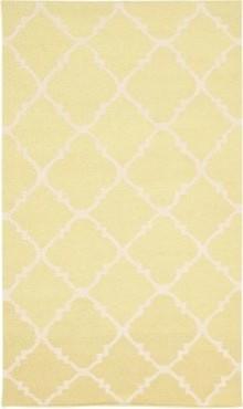 Safavieh Dhurri DHU554A-10 Area Rug - Light Green / Ivory modern-rugs