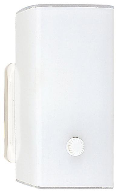 Sea Glass Wall Sconces : Sea Gull Lighting 4449-15 Bent Glass Wall/Bath White Wall Sconce - Transitional - Bathroom ...