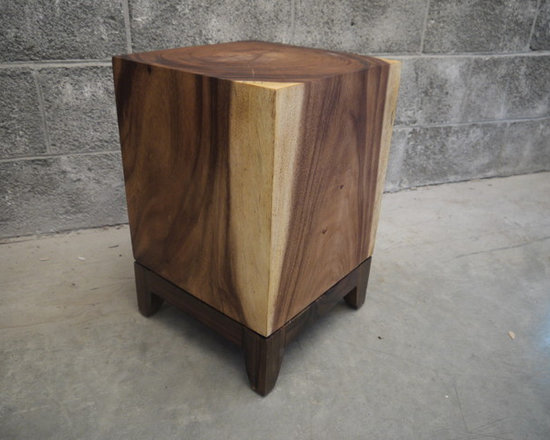 Suar block side table - Charles St-Louis