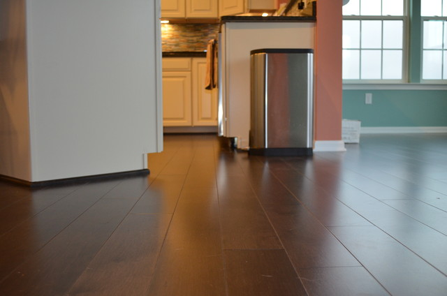 New Home Milford Ohio Transitional Hardwood Flooring