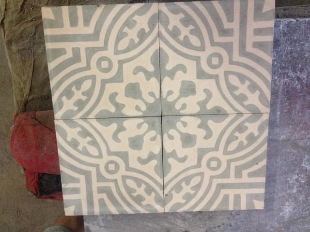 Handmade Cement Tiles traditional-floor-tiles