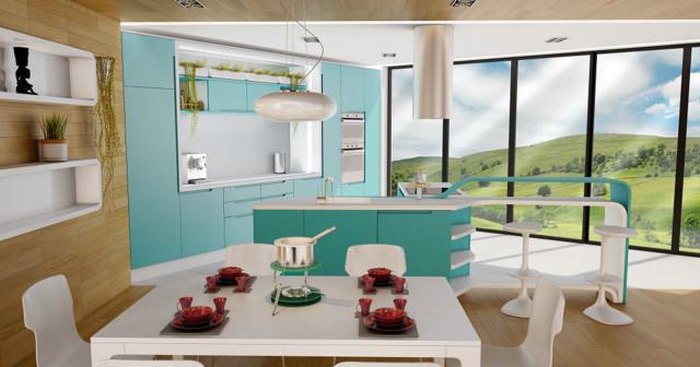 Kitchen Design-The Smart Luxury Collection-MOLTEN FLOW modern-kitchen