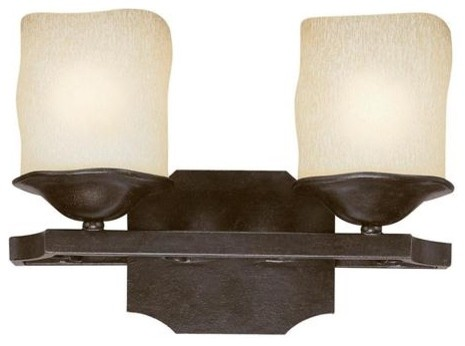 2 Light Vanity Fixture - Modern - Bathroom Vanity Lighting - by Elite Fixtures