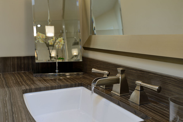 Ensuite Bathroom contemporary bathroom