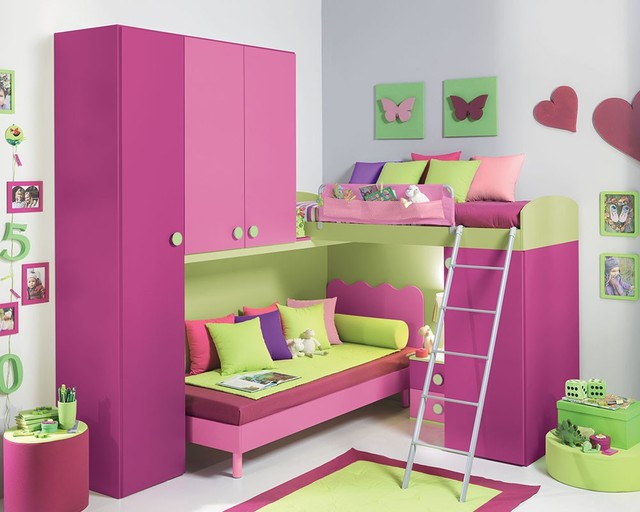 Girls Bedroom Furniture Modern Kids New York By MIG Furniture Design