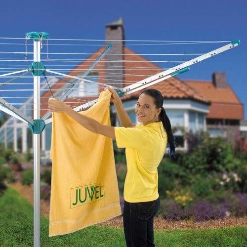 Novaplus 500 Umbrella Clothesline Dryer contemporary-clothesline