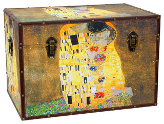 ... of Klimt Trunk - Eclectic - Decorative Trunks - by Oriental Furniture