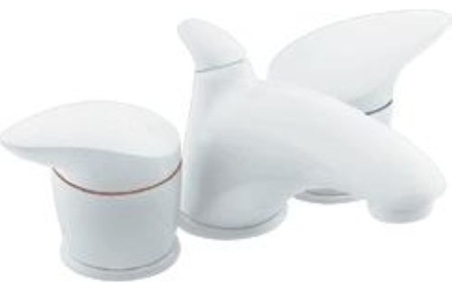 White Faucet Bathroom : ... White Lav Faucet Trim Kit TL4734W traditional-bathroom-faucets-and