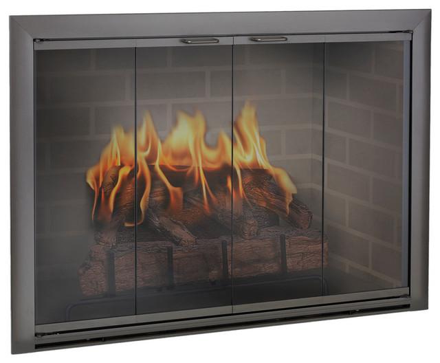 Brookfield Aluminum Fireplace Glass Door Custom Product Fireplace Accesso