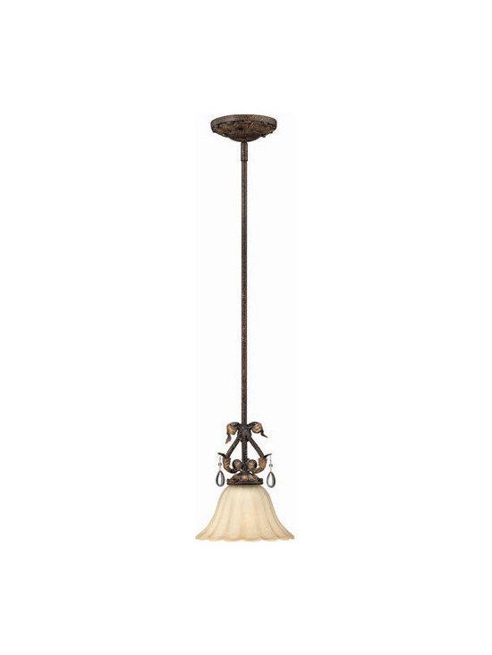 Hinkley Lighting 4897SU 1 Light Mini Pendant Veranda Collection -