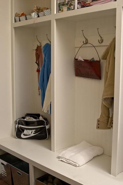 Lockers in Mudroom craftsman-hall