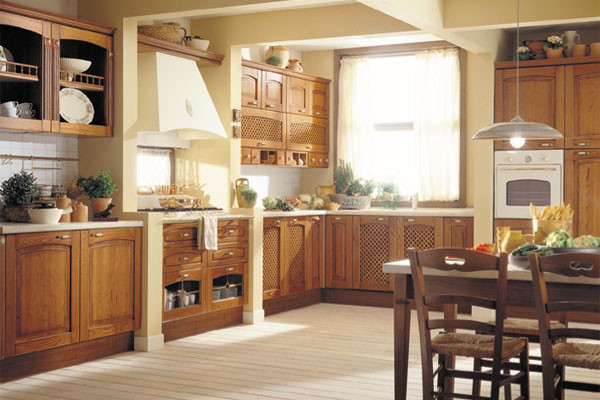 european cabinets traditional-kitchen