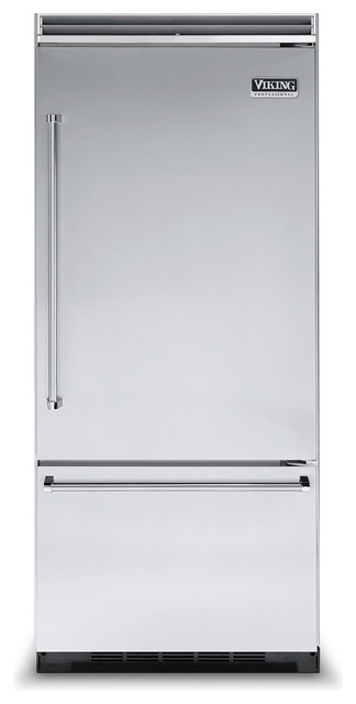 "Viking 36"" Built-in Refrigerator Stainless Steel Right Hinge 