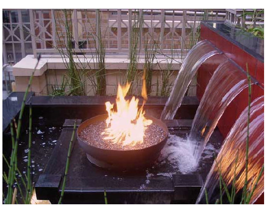 Pool accessories - For that one of a kind fire feature crafted by an artist, visit our website or call us to order 1-888-986-1535.