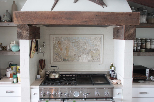 Kitchen Backsplash Mural eclectic-tile