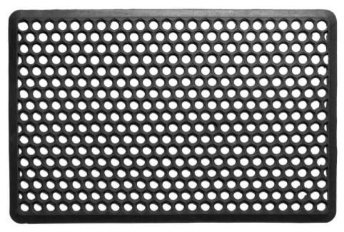 Natural Rubber Anti-fatigue Open Mat modern-doormats