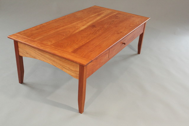 Coffee Table By Blue Spruce Joinery Traditional Coffee Tables Portland Maine By Blue