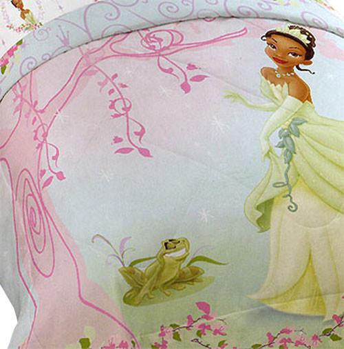 Disney Princess Frog Pink Tiana Full Double Bed Comforter