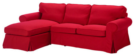 Ektorp Cover For Loveseat With Chaise Contemporary Sectional Sofas By Ikea
