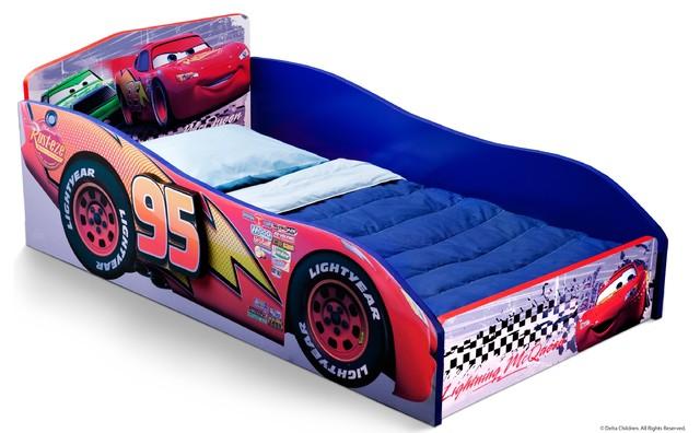 Delta Disney Pixar Cars Wood Toddler Bed - modern - kids beds