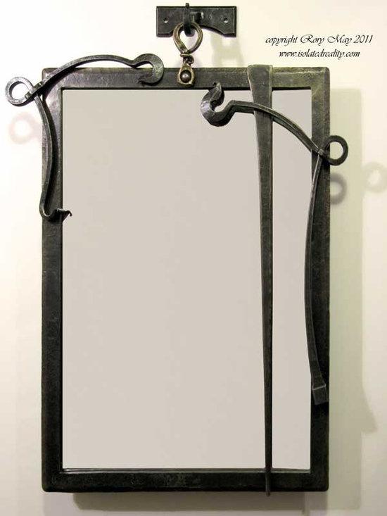 Gothic Nouveau Mirror Frame -