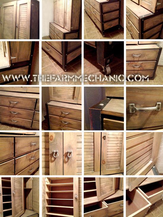 Handmade by The Farm Mechanic - Tisdale St. Oversized Dresser and Shoe Closet - Description