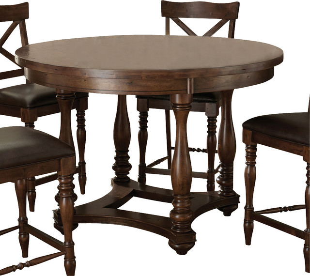 Steve Silver Wyndham 54 Inch Round Counter Height Table  : traditional dining tables from houzz.com size 640 x 570 jpeg 87kB