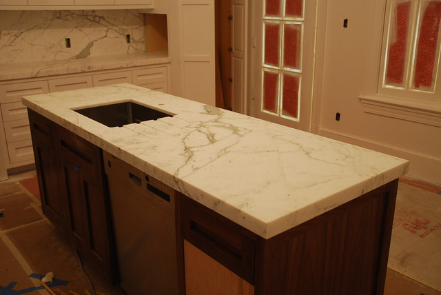 Private Residence contemporary-kitchen-countertops