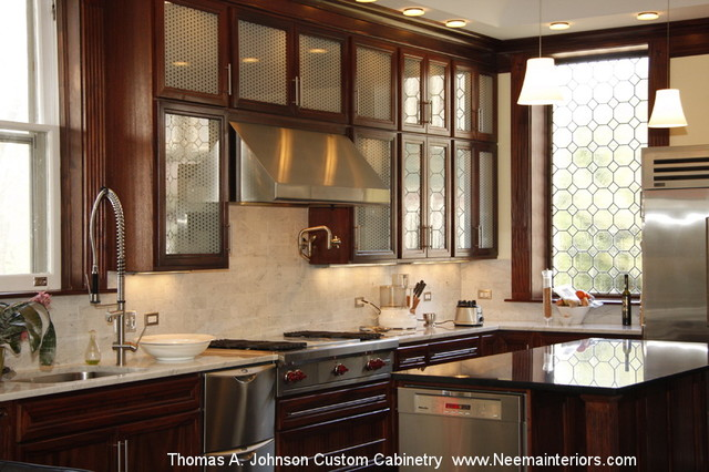 Johnson Custom Kitchen Cabinetry Mahogany Traditional Kitchen