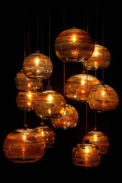 Fire Ball pendant-lighting