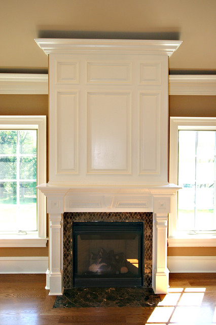 Custom Fireplace Mantles Build Ins