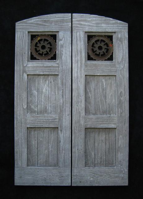 Swing Bar Doors : Custom swinging saloon doors farmhouse interior