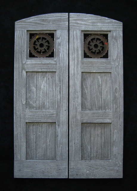 Custom Swinging Saloon Doors Farmhouse Interior Doors Los Angeles By Hylton Butterfield