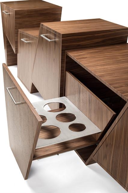 Coast Range Bar Console by Peter Pierobon modern-bar-tables