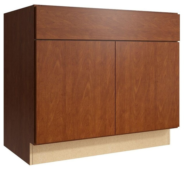Cardell Cabinets Fiske 36 in. W x 31 in. H Vanity Cabinet ...