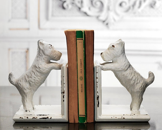 Scottie Dog Bookends -