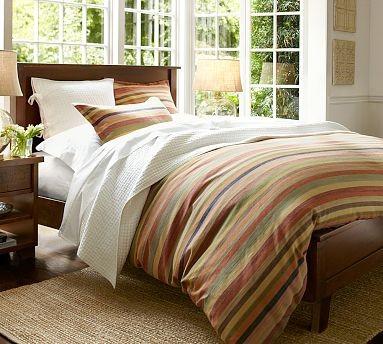 Sumatra II Bed, King, Mahogany stain traditional-beds