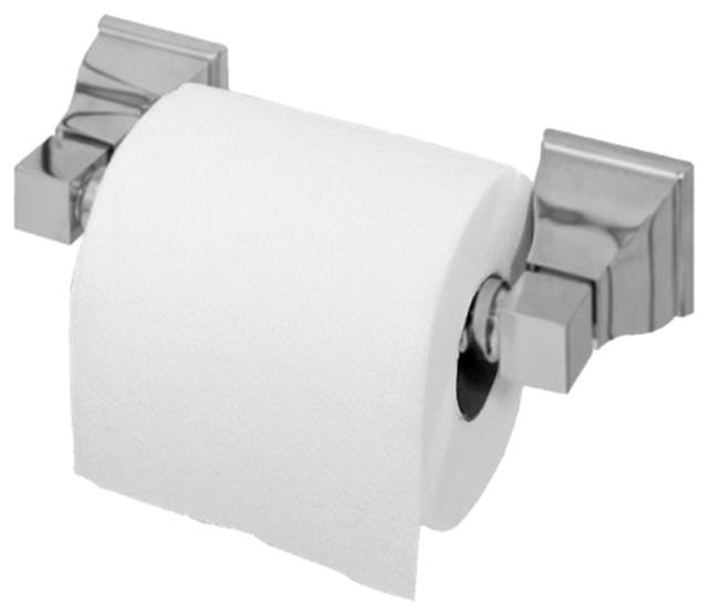 American Standard 2555.061.295 Town Square Toilet Tissue Holder, Satin Nickel modern-toilet-paper-holders