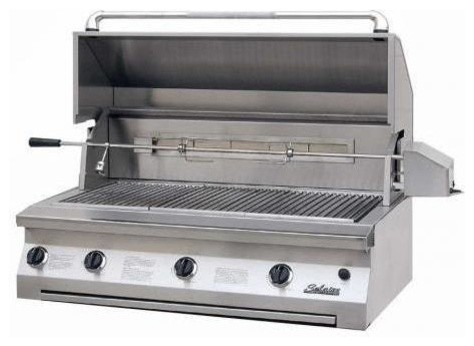 Solaire 42-in Infrared Built-in Propane Grill, Rotisserie | SOL-AGBQ-42IR modern-outdoor-products