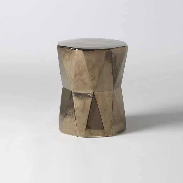 Ceramic Accent Table Safavieh Coin Outdoor