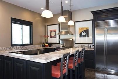 Cross Street Residence Modern Kitchen By Linn 39 S Prestige Kitchens And Baths Inc